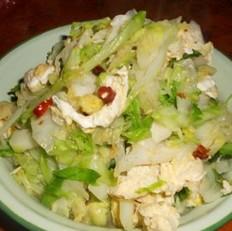 雞蛋洋白菜