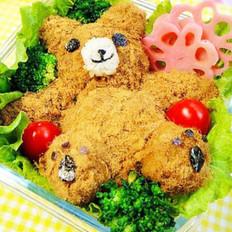 泰迪熊便當