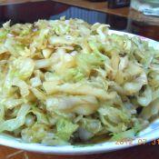 卷心菜炒虾皮