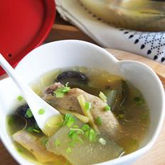 香菇冬瓜雞湯