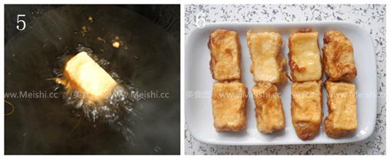 脆皮内酯豆腐怎么吃