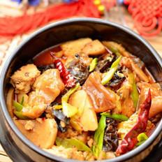 香辣牛筋豆腐煲