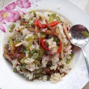 雙椒豆干炒飯