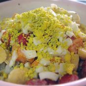 水果鸡蛋沙拉