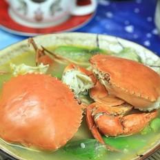 水瓜煮螃蟹