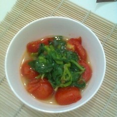 番茄芹菜叶的做法大全