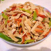 辣椒豆腐皮