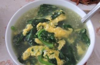 木耳菜蛋花汤的做法