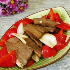 腌的咸猪肉怎么做好吃凉拌牛心的做法