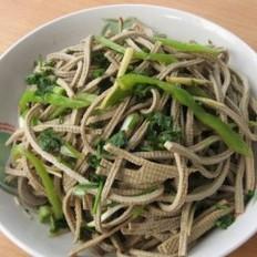 尖椒五香豆腐丝