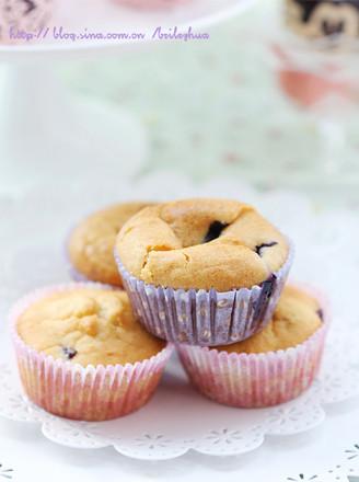 蓝莓蜂蜜杯蛋糕的做法