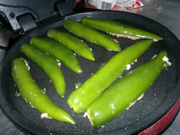 煎酿尖椒怎么煮