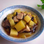 香菇炖土豆的做法大全