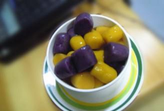 双薯南瓜芋圆的做法