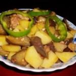 土豆炖茄子