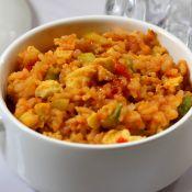 番茄沙司炒米