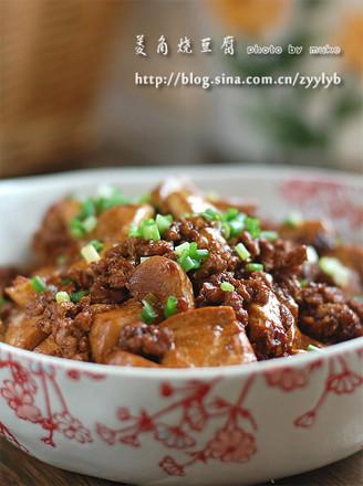 菱角燒豆腐的做法