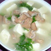 肥肠豆腐汤