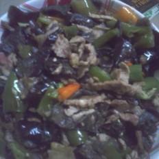 木耳彩椒炒肉