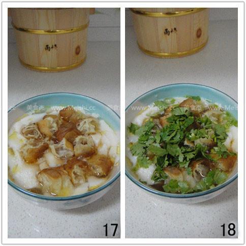 鸡汤油条豆腐脑怎么吃