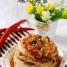 韩式梨泡菜