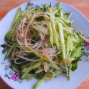 家常金针菇黄瓜菜