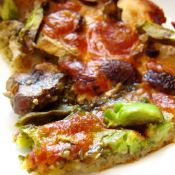 牛油果素食pizza