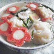 风萝卜蹄花汤怎么做海鲜丸馄饨的做法