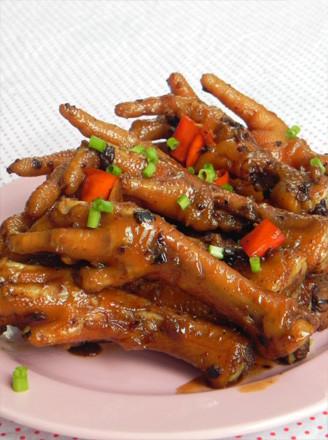 辣味豉香鸡脚的做法