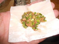韭菜猪肉云吞怎么吃