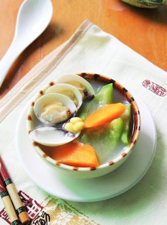 黃豆鼠瓜蛤蜊湯的做法