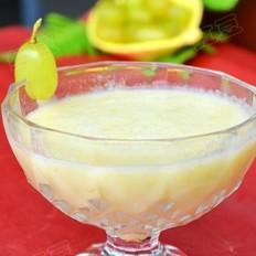 哈密瓜葡萄酸奶