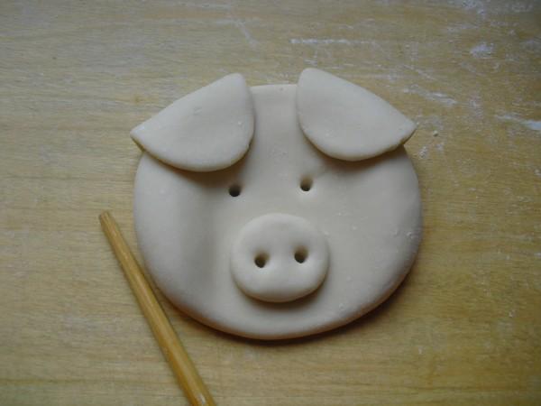 小猪头馒头怎么做