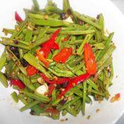 豆豉炒空心菜梗