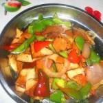 辣椒洋蔥炒香干