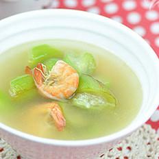 海鲜丝瓜汤