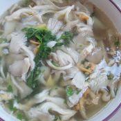 蘑菇海鲜汤