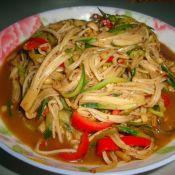 金针菇炒黄瓜