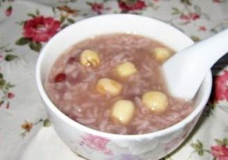 紅豆蓮子粥的做法
