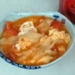 西红柿鸡蛋片汤