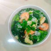 翡翠鮮蝦泡飯