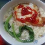 鸡蛋煮面条