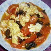 西紅柿木耳炒雞蛋