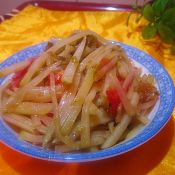 干焙蠔油茄汁土豆絲