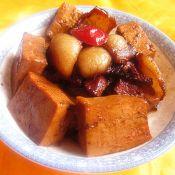 山楂豆腐红烧肉