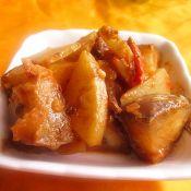 麻醬茄子土豆片