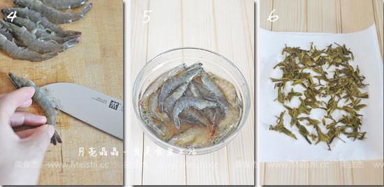 龙井茶香虾的做法图解
