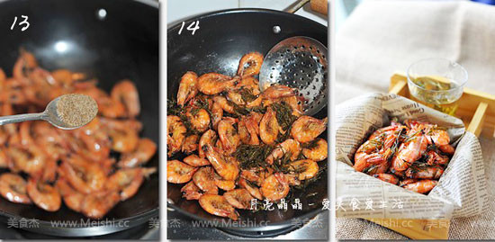 龙井茶香虾怎么吃