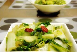 醋溜小白菜的做法