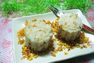 桂花米饭月饼